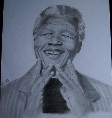 Nelson Mandela by Phoebe19